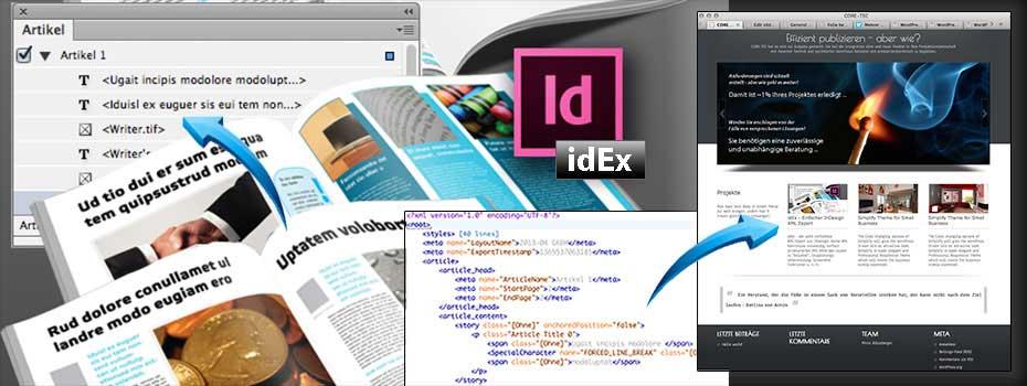 idEx - Einfacher InDesign XML Export